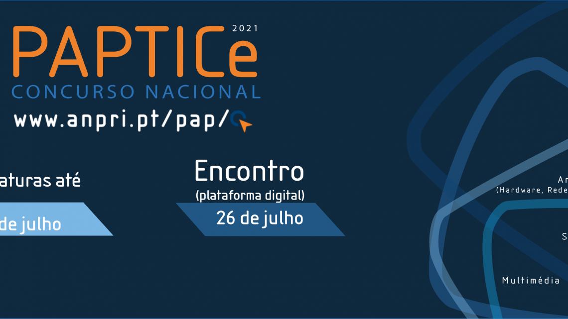 Alteração da data do Concurso PAPTICe | 23 de julho